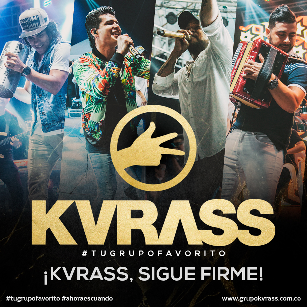 ¡KVRASS, SIGUE FIRME!